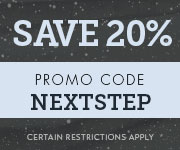 Save with promo code NEXTSTEP