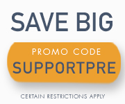 Save with promo code SUPPORTPRE